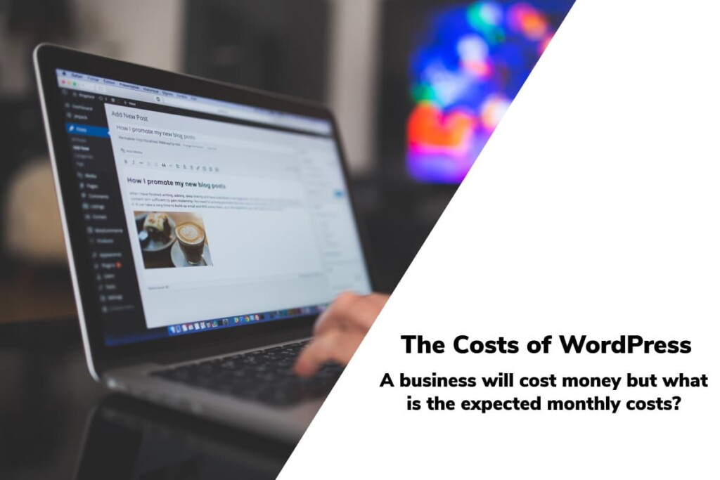Hero image for Cost of WordPress for a niche site - post is about How Much Does a WordPress Blog Cost