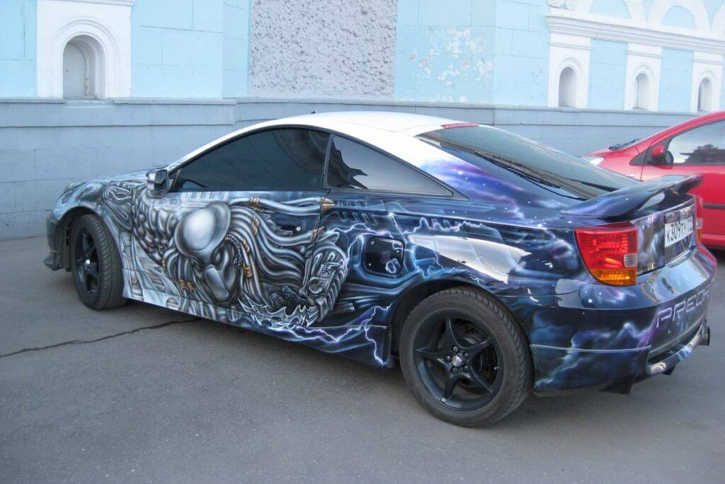 Automotive Airbrushing is just one sub-niche to explore