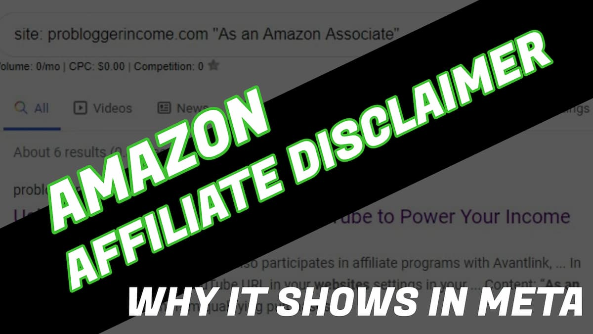 How to Add a Pre-Content Affiliate Disclosure
